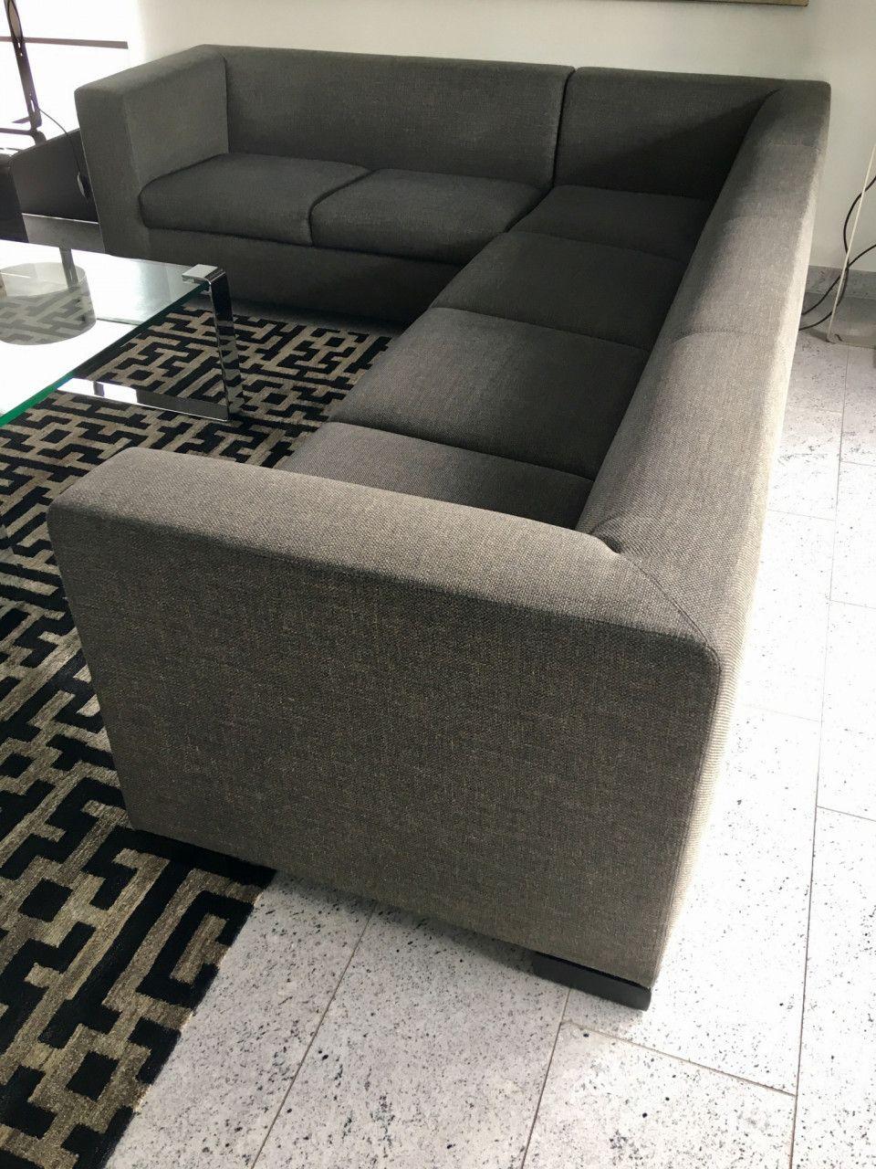 Wittmann Sofa Eckgarnitur In Stoff Grau Gemutliches Sofa Bequeme Sessel Sessel