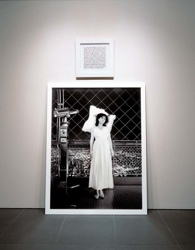 2003 black and white print frames photographie n b texte aluminium encadrement 70 x 51 inches 20 x 20 inches 170 x 130 cm 50 x 50 cm eng