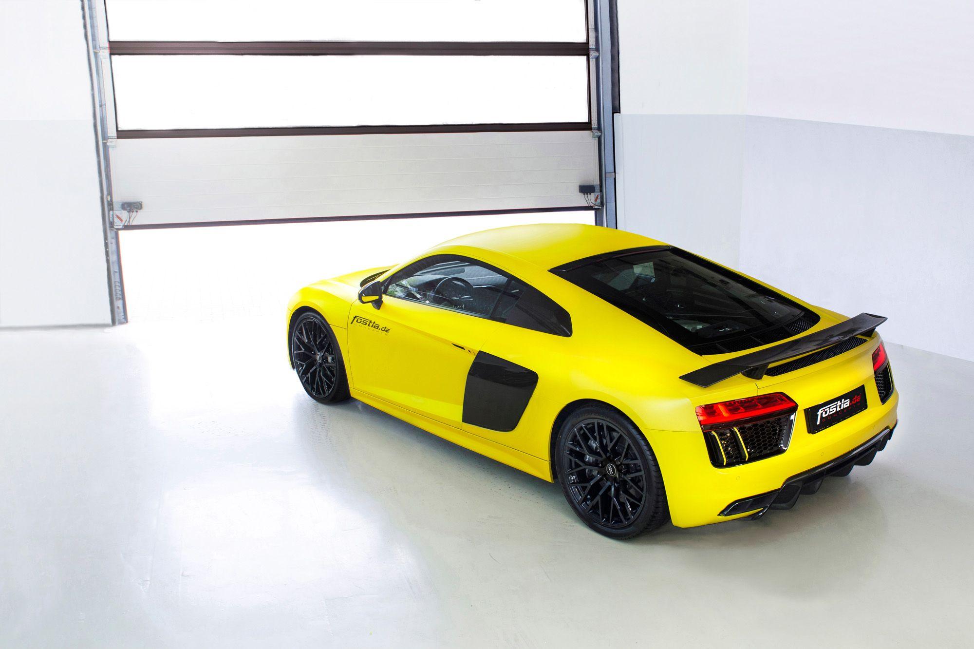 Audi R8 Clubsport Fahrwerk