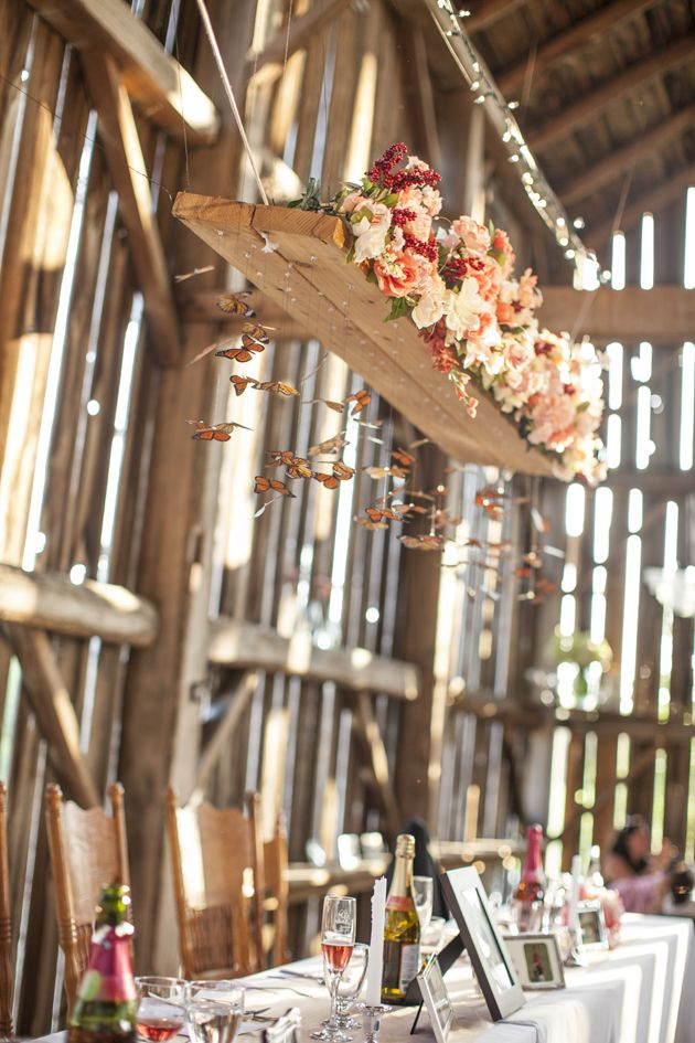 How amazing is this wedding DIY by today's real bride Rebeckah? Romantic Barn Wedding | Jono and Laynie Photo and Film | Bridal Musings Wedding Blog38
