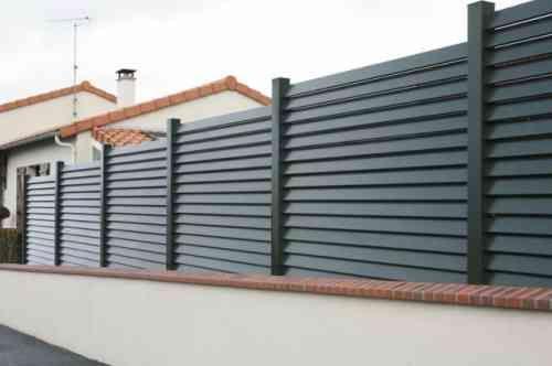 Mur de clôture - 98 idées d\'aménagement | Gates and Decoration