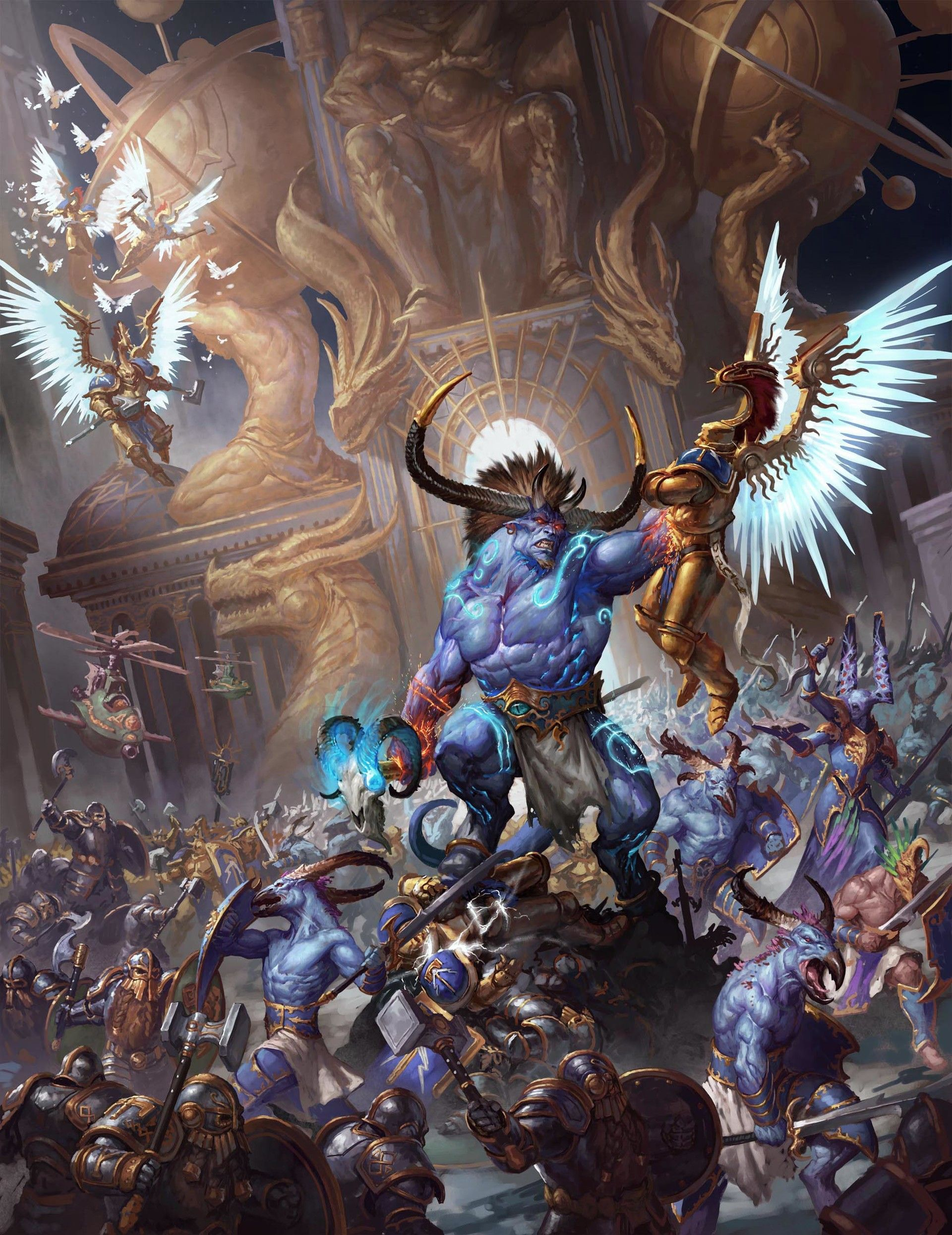 full page opener for the book disciples of tzeentch available very soon ;). I