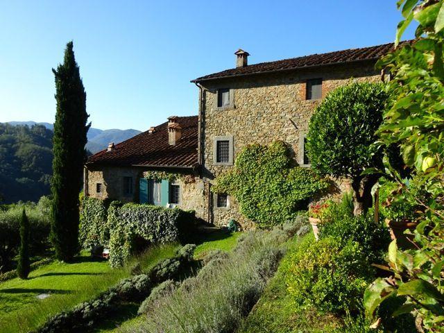 View from the Property | Villa Lavanda, Bagni di Lucca, Italy ...