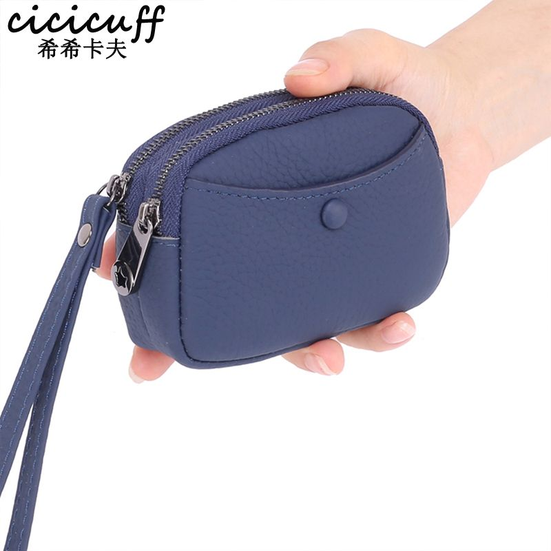 Purse zipper Purse zipper. Women/'s Leather Change Purse coin bag