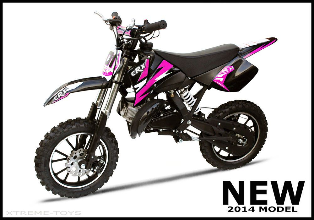 xtreme crx 50cc kids petrol dirt bike mini moto childs new motocross girls. Black Bedroom Furniture Sets. Home Design Ideas
