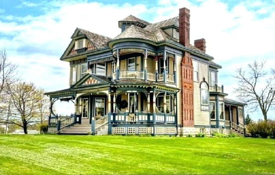 Victorian Gothic Revival House Style Houses House Plans Old House Design Ideas Plans Style House Floo Victorian House Plans Old Victorian Homes Victorian Homes