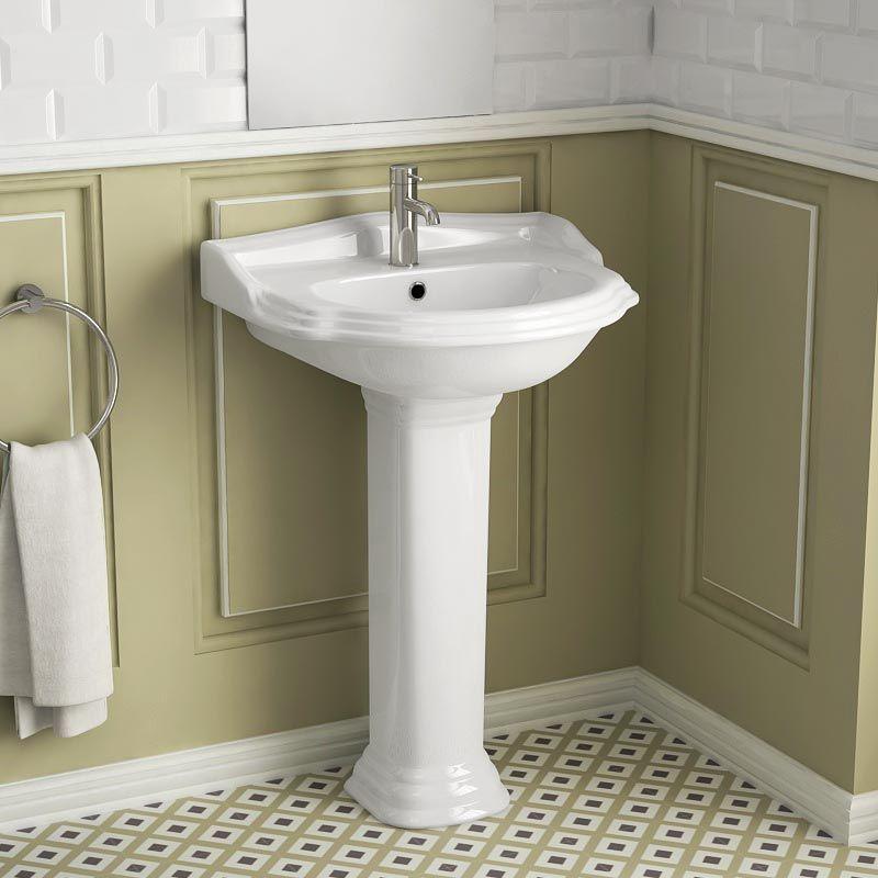 lavabo colonne 58x89 cm laetitia ma salle de bain com 269euros - Ma Salle De Baincom