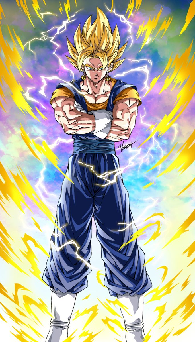 Super Vegito Dragon ball wallpapers, Anime dragon ball