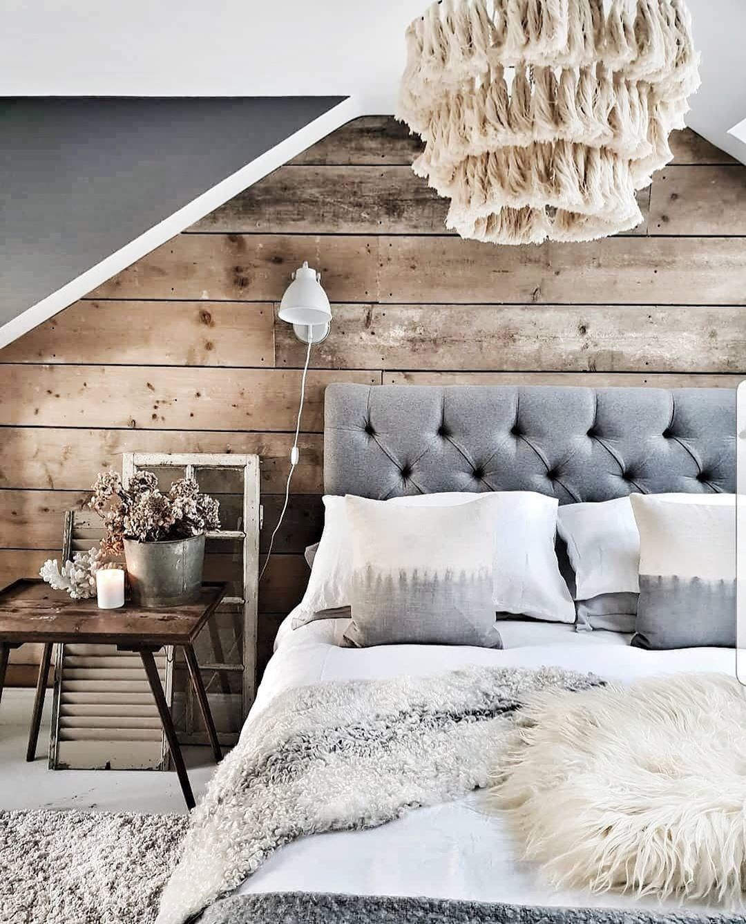 House Beautiful Uk On Instagram Cosy Bedroom Vibes Right Here We Love This Loft Bedroom By Malmo And M Modern Rustic Bedrooms Bedroom Interior Bedroom Loft Modern bedroom ideas uk