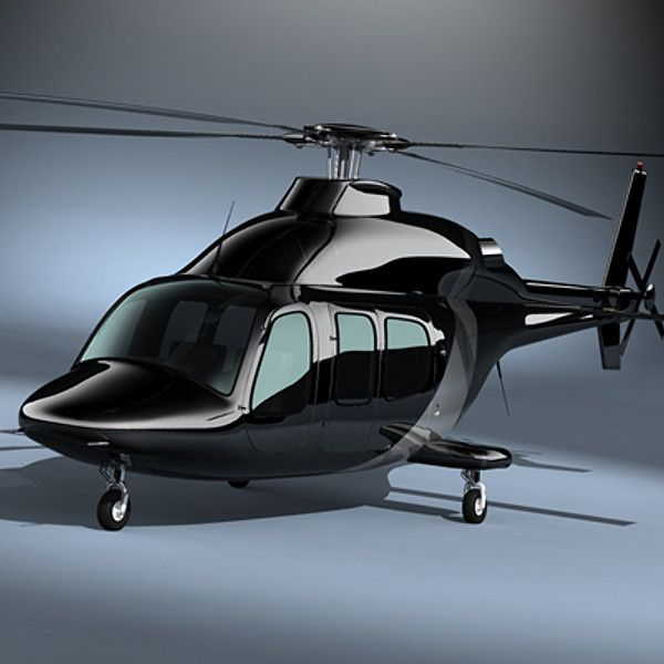 3d executive helicopter model
