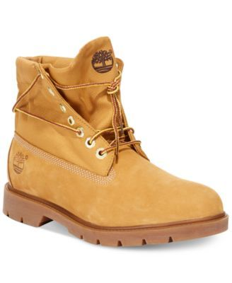 9f8187ff7 Timberland Men's Icon Basic Roll Top Waterproof Boots - Shoes - Men ...