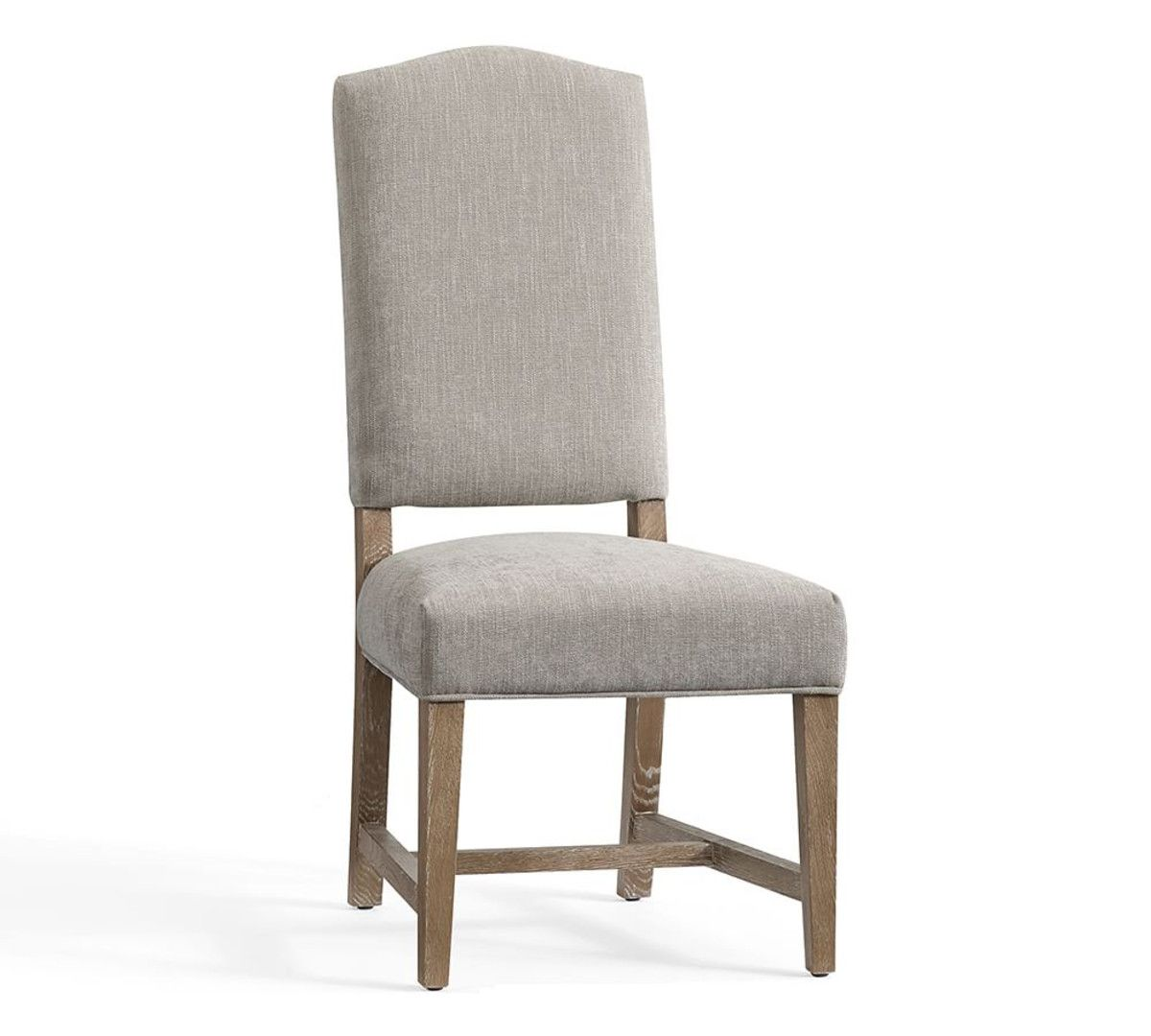 Ashton Non Tufted Dining Chair   Silver Taupe