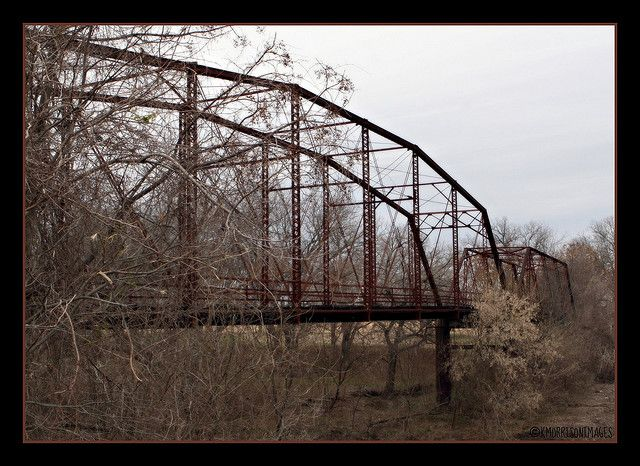 Old Rowe Valley Bridge Taylor Texas Haunted Haunted