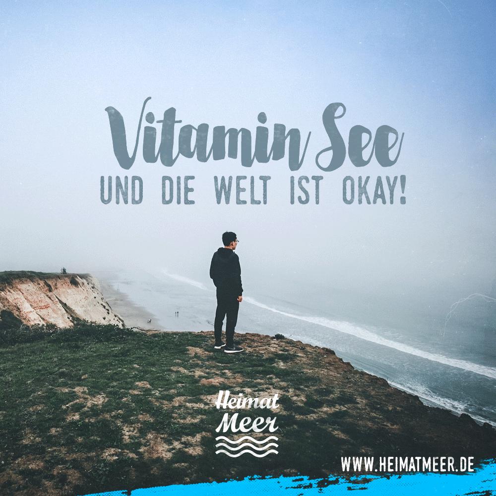 vitamin see und die welt ist okay! mee(h)r >> | sprüche