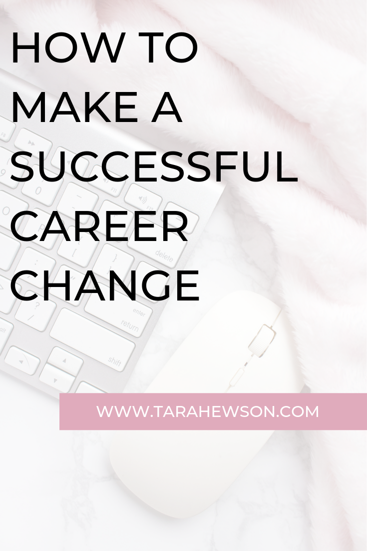 Want to make a successful career change? Check out these