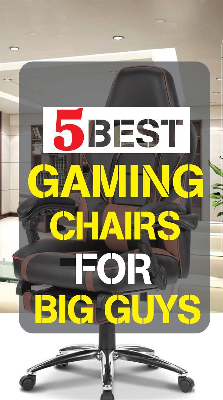 Sensational Finding The Best Gaming Chair For Big Guys Updated For 2018 Ocoug Best Dining Table And Chair Ideas Images Ocougorg