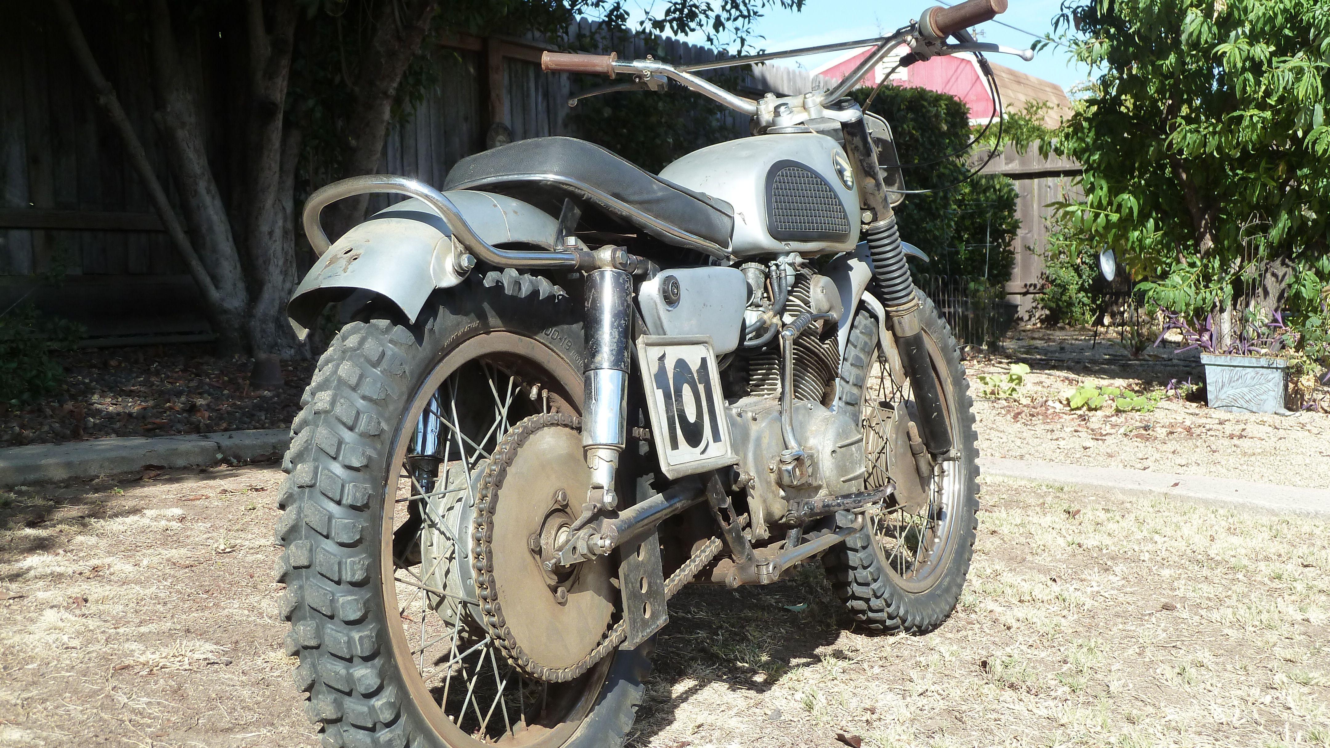 1965 Honda 305 Cl77 Race Scrambler Honda Vintage Motocross Scrambler [ 2432 x 4320 Pixel ]