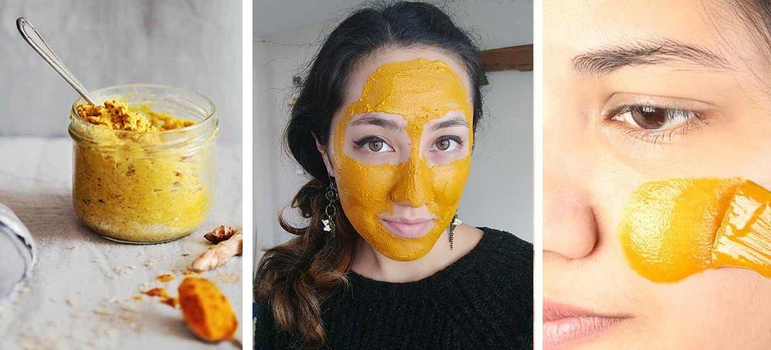 Masque Dore Fait Maison Pour Eliminer Les Boutons Et Laisser Une Peau Radieuse En 2020 Masque Maison Bouton Masque Visage Maison Bouton Masque Visage Bouton