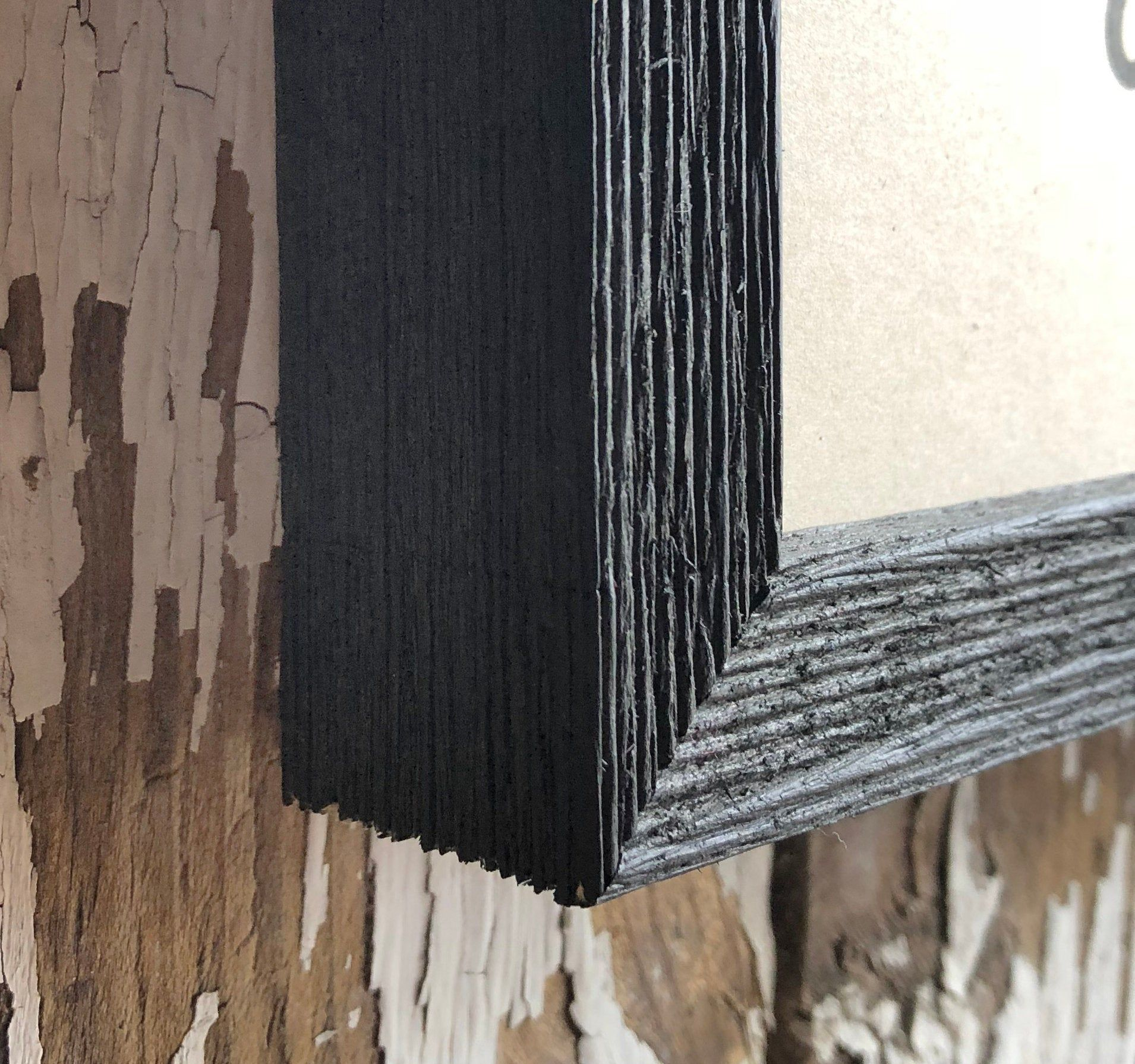 Solid Wood Black 3 4 Barnwood 8x10 9x12 Etsy Farmhouse Picture Frames Barn Wood Picture Frames Barn Wood