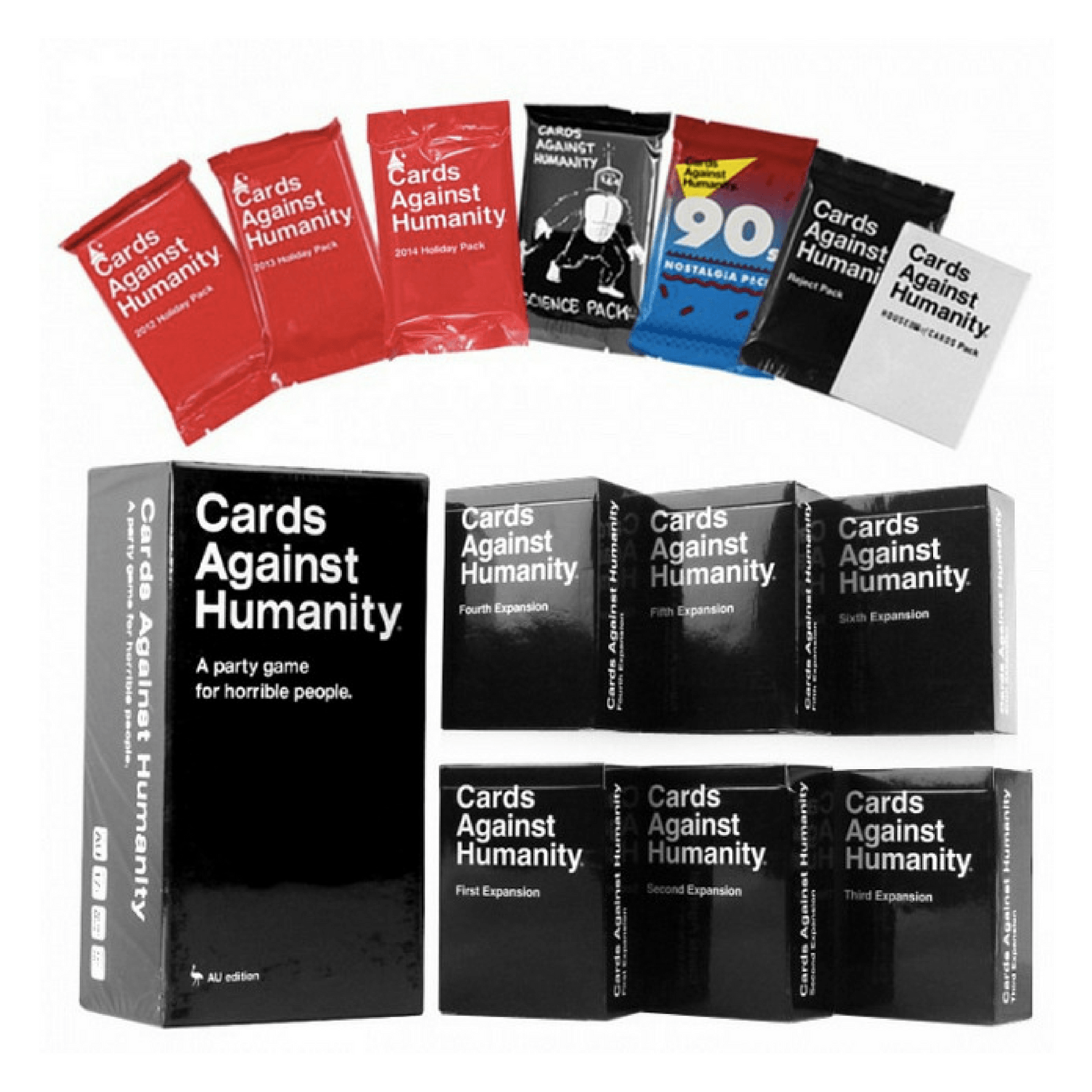The Ultimate Bundle Cards Against Humanity Australian Version