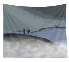 the last remaining light Wall Tapestry