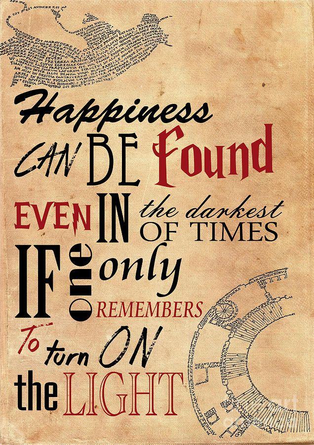 b39bdbd8b28 Harry Potter Quote Poster Albus Dumbledore Canvas Print   Canvas Art ...