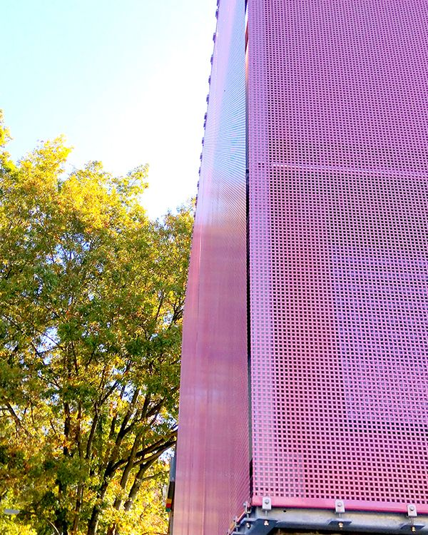 Coloring Architectural Mesh | Stainless steel mesh, Façades and ...
