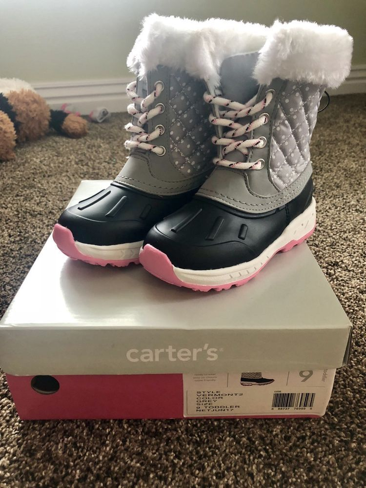 41bd20e86644 Carters Little Girl Snow Boots Size 9  fashion  clothing  shoes   accessories  kidsclothingshoesaccs  girlsshoes (ebay link)