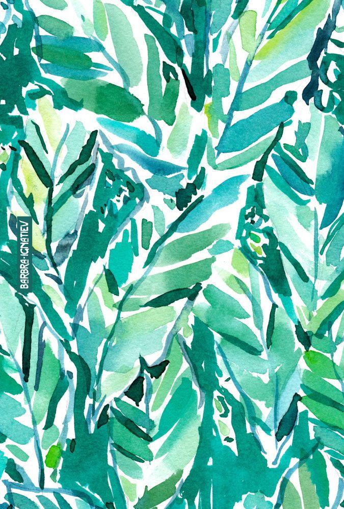 BANANA LEAF JUNGLE Tropical art, Prints, Art prints