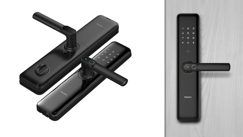 Kaadas S8 If World Design Guide Digital Door Lock Smart Door Locks Fingerprint Recognition