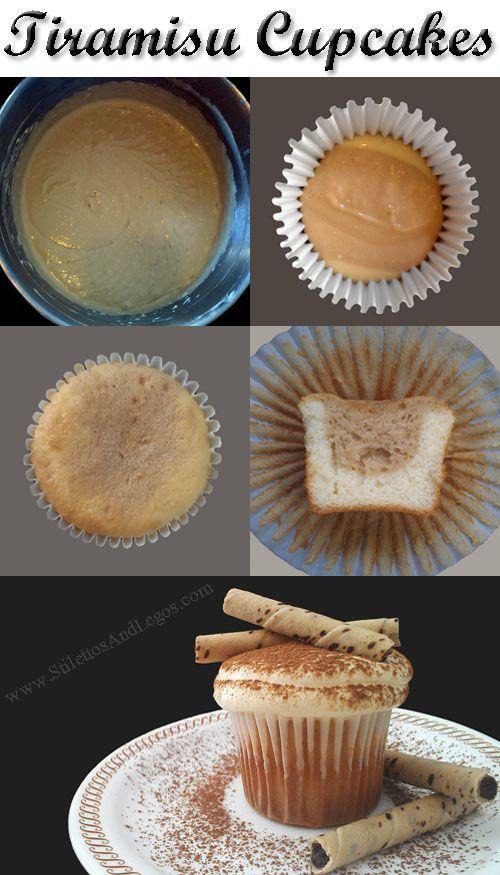 Tiramisu Cupcakes Recipe - Easy!!!               For you Lissa!