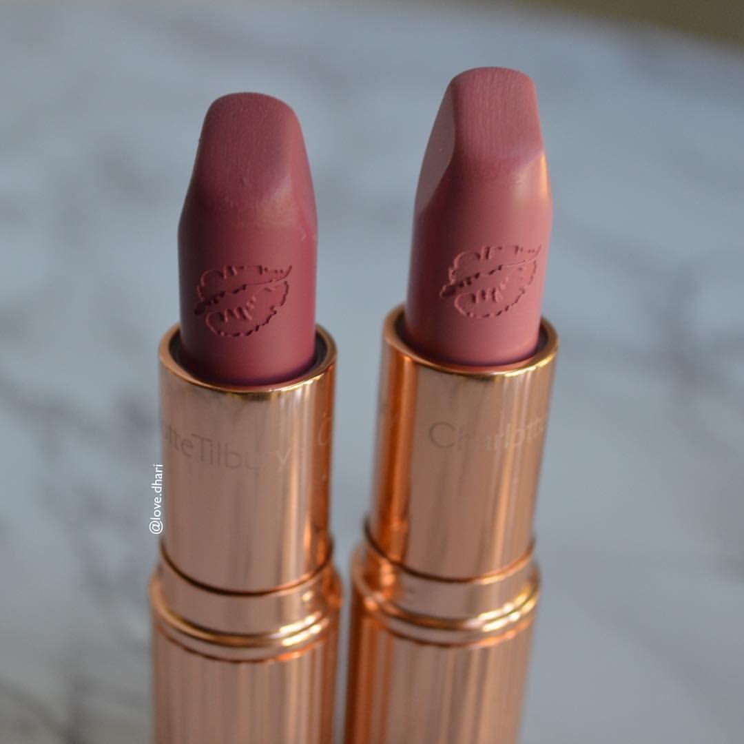Charlotte Tilbury Hot Lips Lipstick in Secret Salma Review