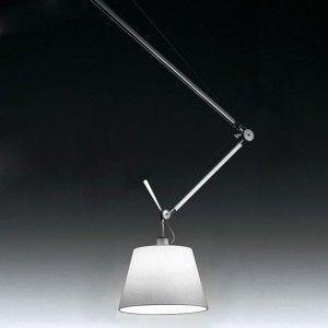 Gezien Op Beslist Nl Artemide Tolomeo Sospensione Decentrata Ar 0629000a Alu Verlichting Hanglamp Lampenkap