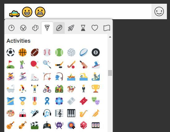 A customizable, simple-to-use, jQuery powered emoji picker for text fields that support Apple Emoji, Android Emoji and Twitter Emoji.