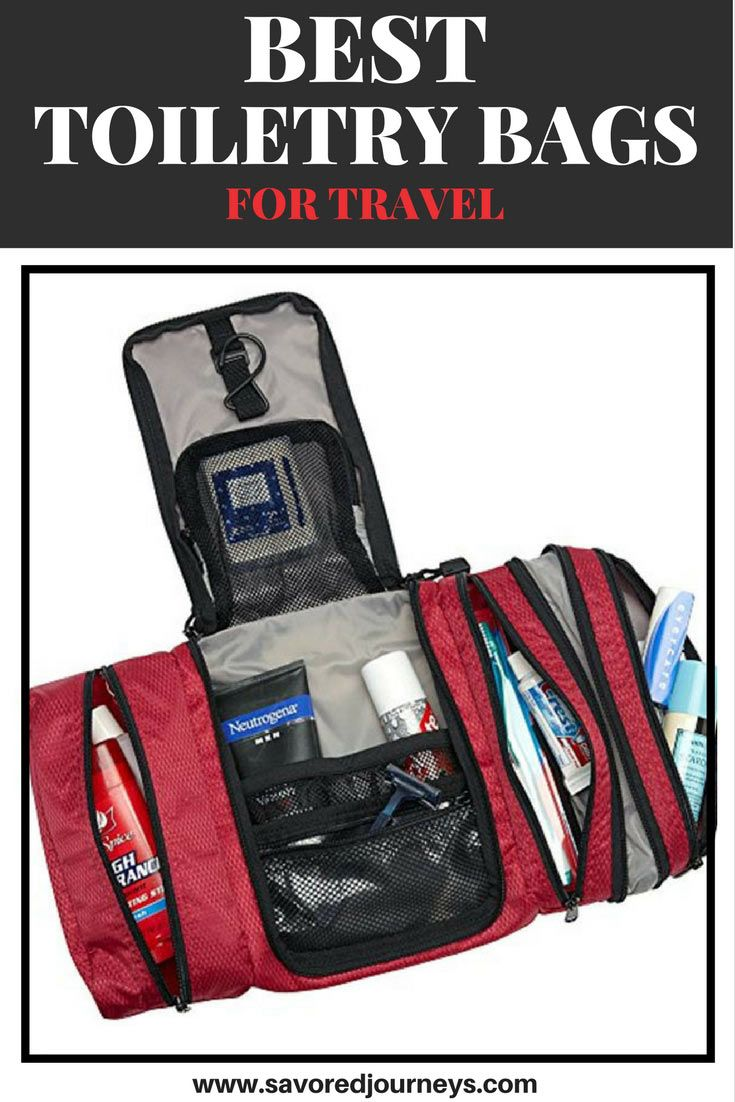 We ve found the best toiletry bags for traveling. Choose the right one for  you. 51ed1e2f33