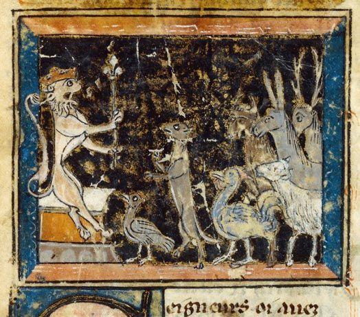 Le Roman De Renart Dossier Pedagogique Art Medieval Roman De Renart Comment Peindre