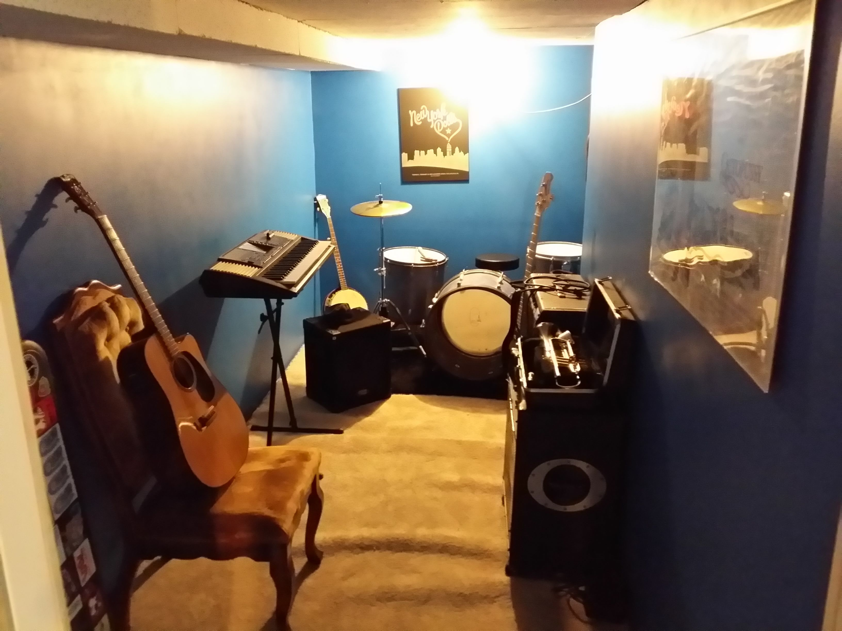How To Build Your Own Soundproof Rehearsal Room When You Have No