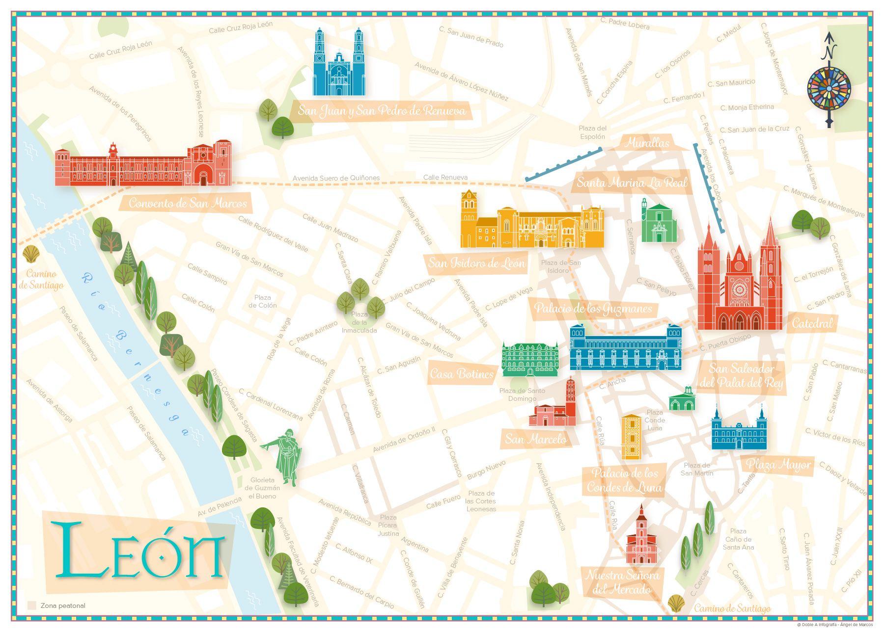 Mapas Puntillismo Para Ninos Mapas Ilustrados Y Mapa Turistico