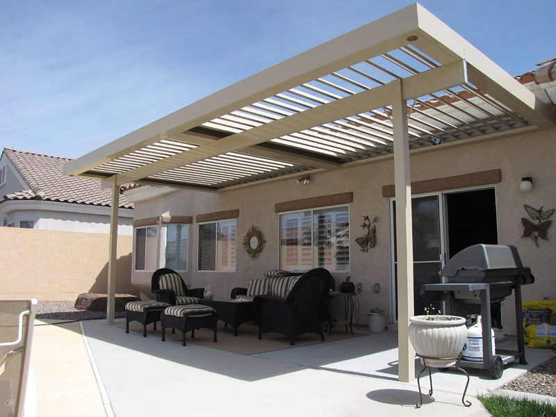 Charmant Louvered Aluminum Patio Cover