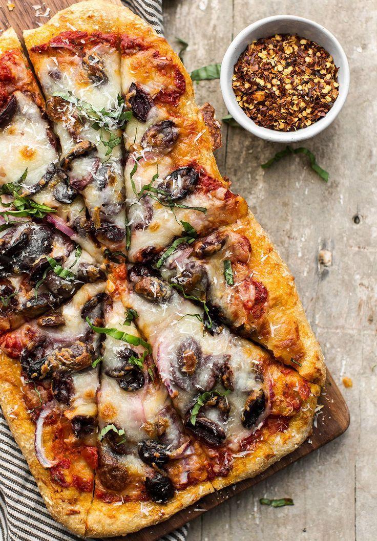 Photo of Caramelized Onion and Mushroom Pizza