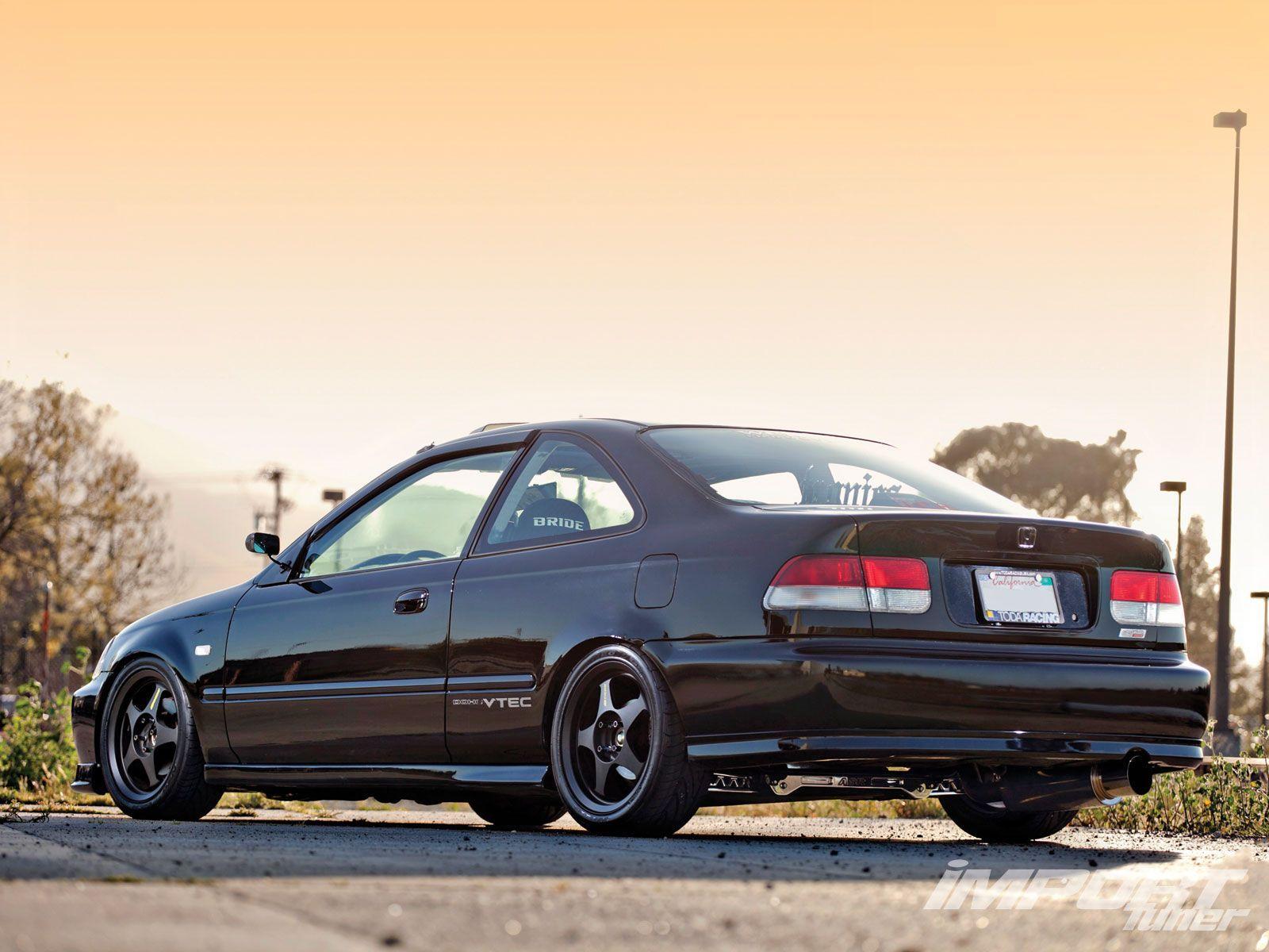 Impp 1208 03 O+2000 Honda Civic Si+EDM Taillights