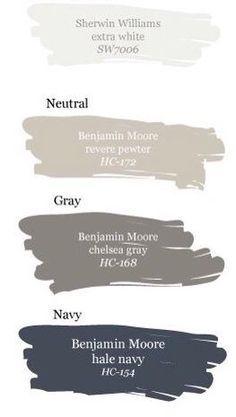 Modern Exterior Design Ideas Hale navy Chelsea gray and Revere