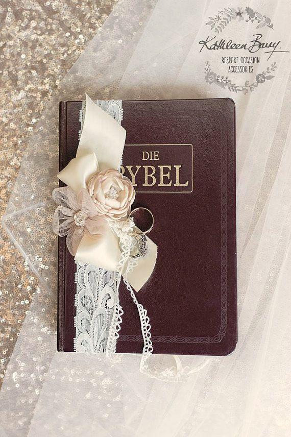 Bible Ring Bearer Decor