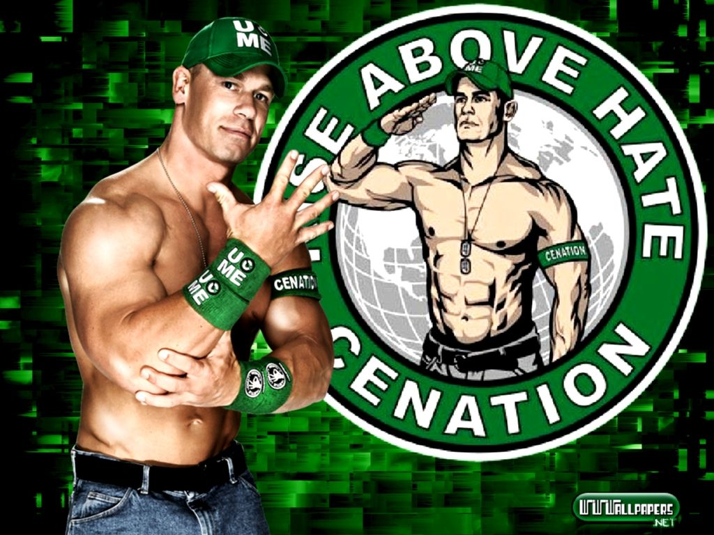 wwe john cena rise above hate cenation wallpap #8772 wallpaper