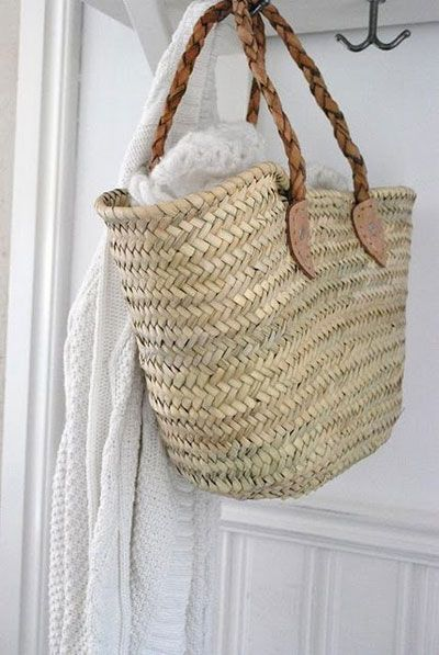 wicker and white