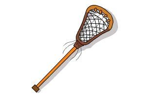 How To Draw A Lacrosse Stick Stick Drawings Lacrosse Sticks Stick Tattoo