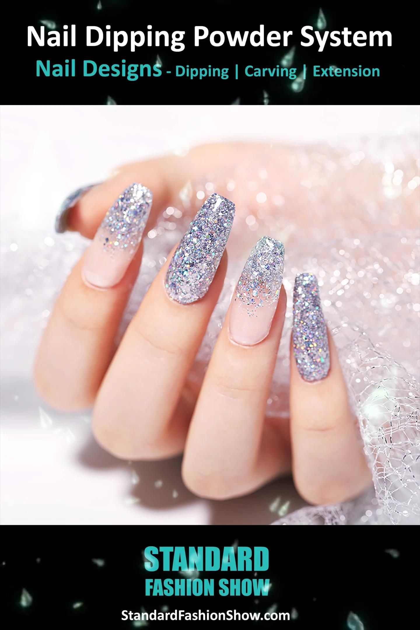 Nail Dipping Powder System - Nail Designs