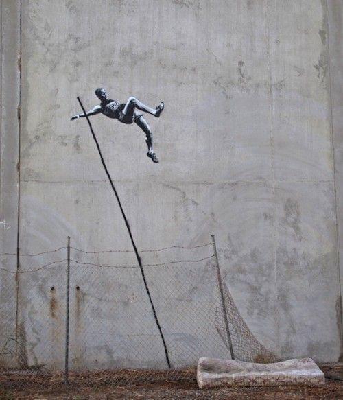 Olympics by Banksy