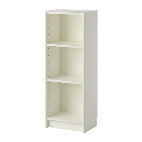 Billy Bookcase White 15 3 4x11x41 3 4 Ikea Billy Bookcase