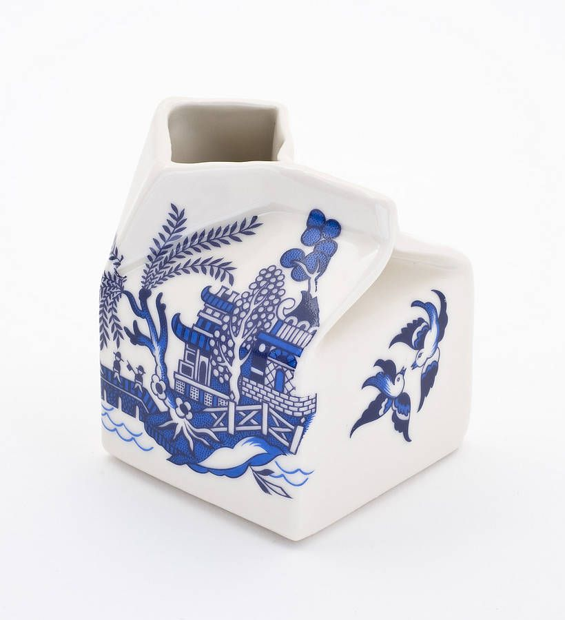 Blue Willow Porcelain Milk jug